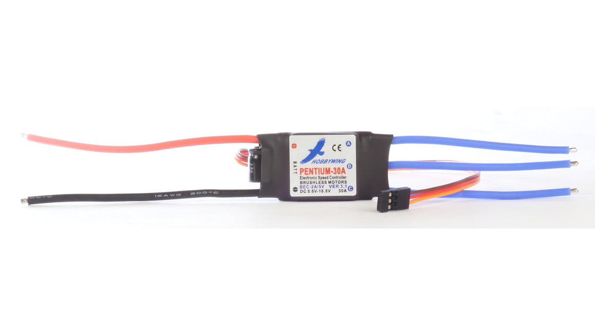 Hobbywing 30 amp, Brushless Electronic Speed Controller (ESC)