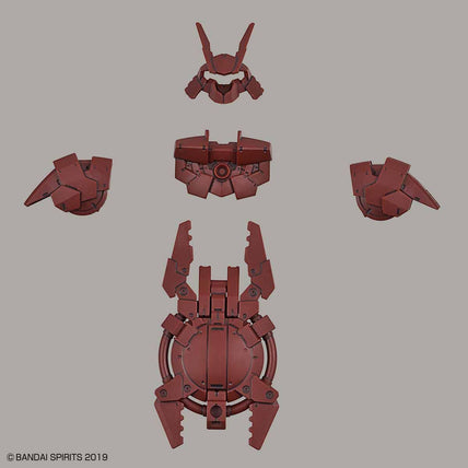 30MM Close Quarters Combat Option Armor for Portanova Dark Red