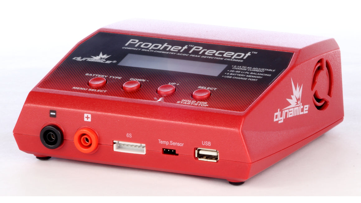 Prophet Precept 80W AC/DC Battery Charger