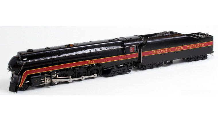 HO 4-8-4 Norfolk & Western #611 by BACHMANN