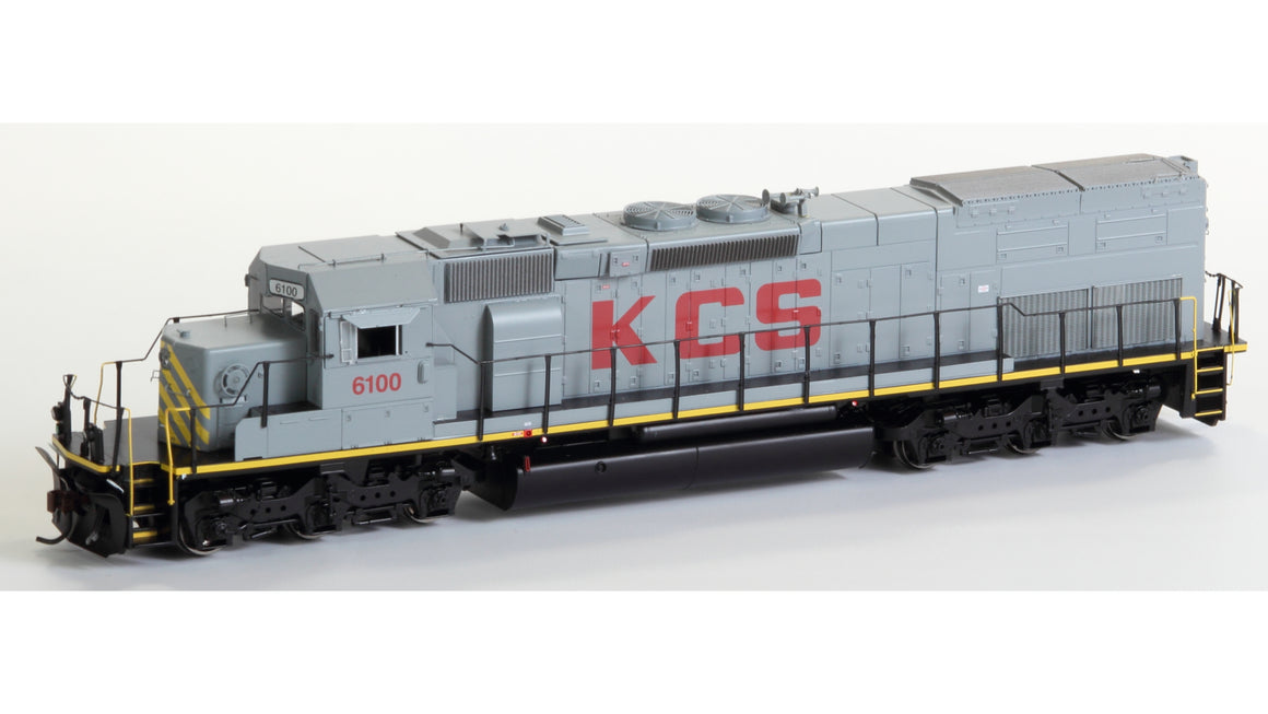 HO SD40T-2 DCC Quick-Plug Equipped - Kansas City Southern #6100