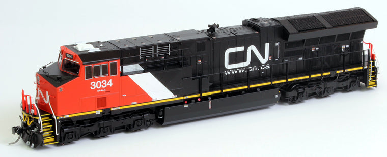 HO Canadian National EF-644t DCC w/Sound by INTERMOUNTAIN RAILWAY