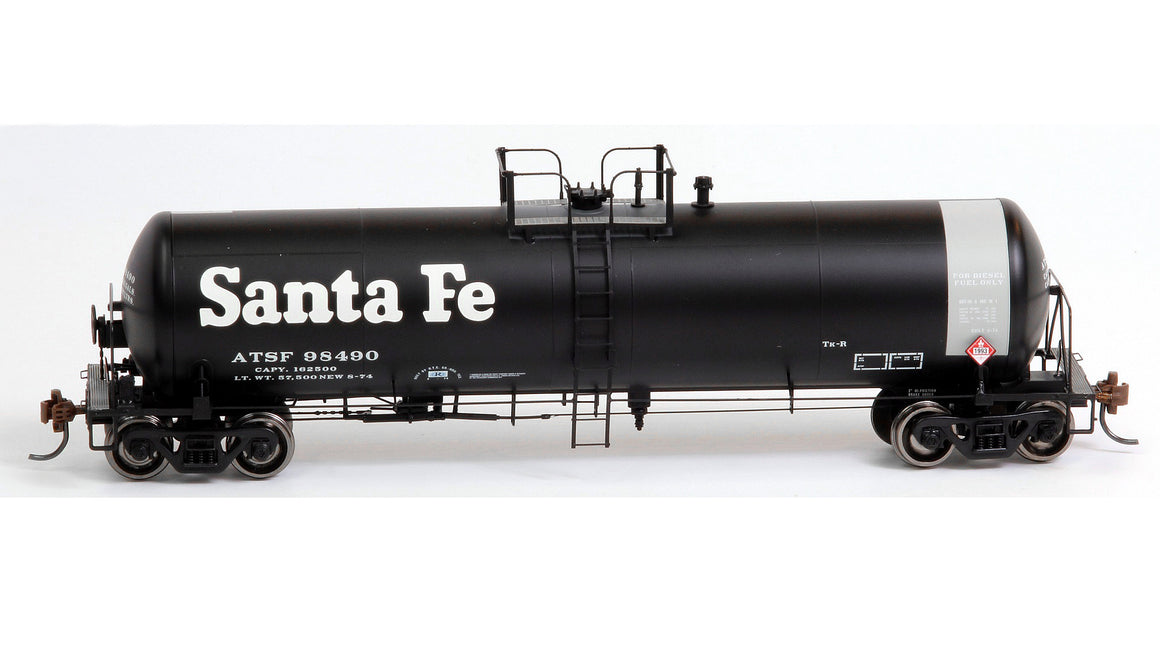 HO 20,900 Gallon Tank Car - Santa Fe by ATHEARN