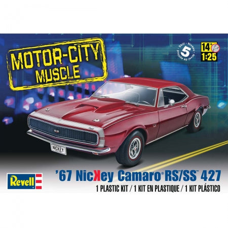 1/25 1967 Nickey Camaro