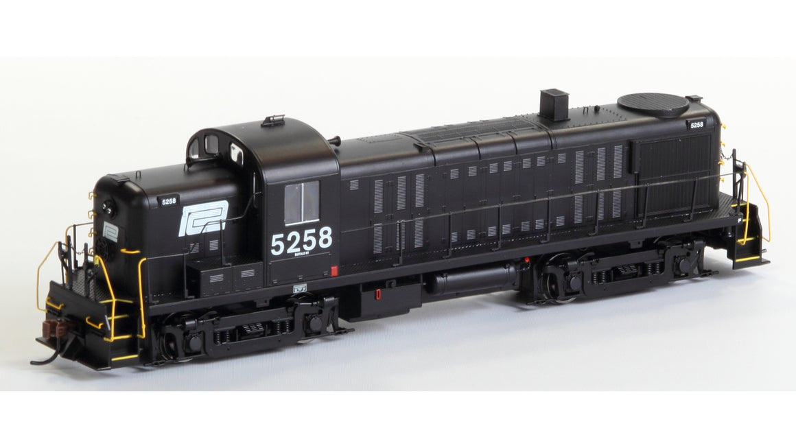 HO RS3 Diesel Locomotive DCC Ready - Penn Central #5258 by ATHEARN