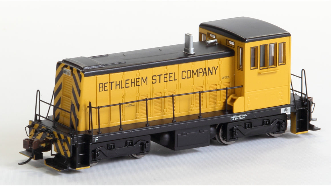 HO GO 70-Ton Diesel DCC Equipped - Bethlehem Steel Co. by BACHMANN
