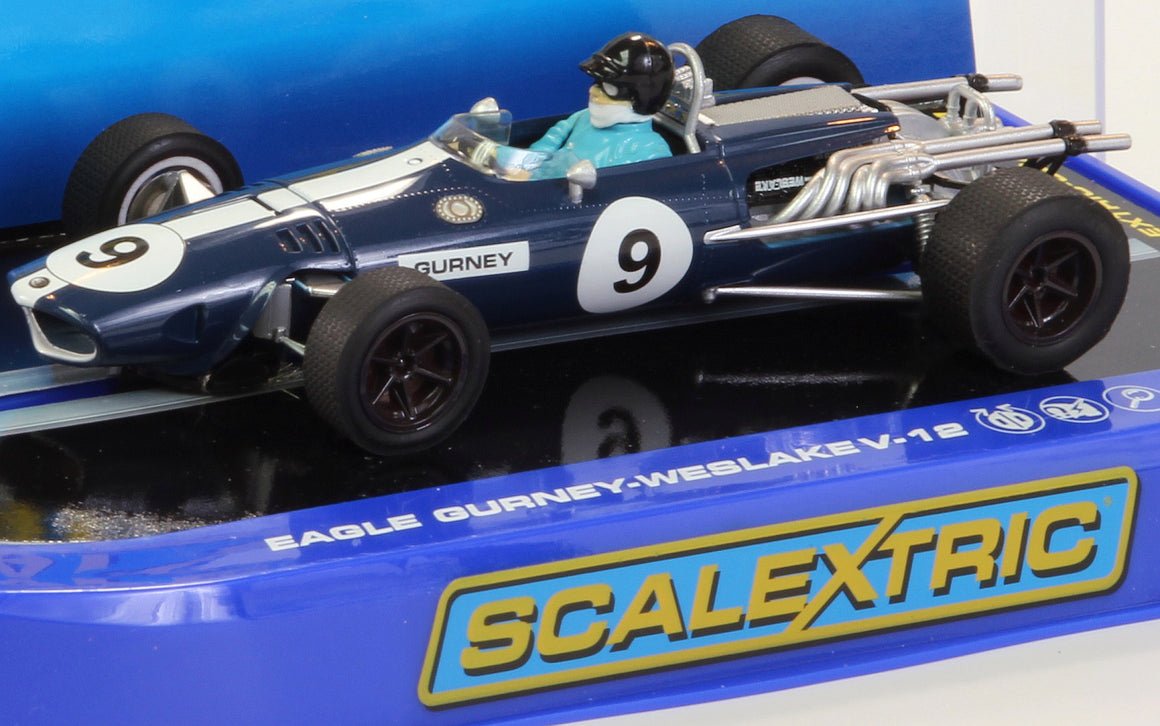 Dan Gurney Eagle F1 Slot Car