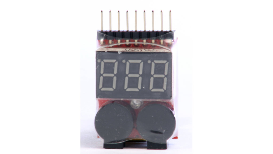 LiPo Voltage Tester and Low-Voltage Alarm