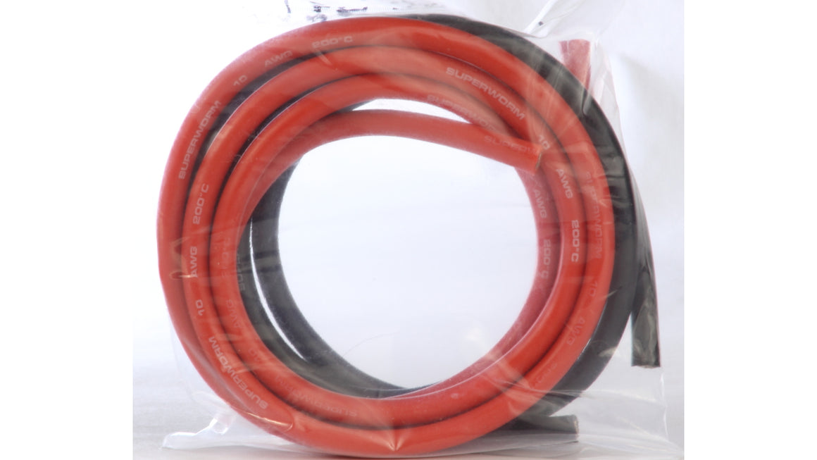 10AWG Wire w/Hi Temp Silicone Rubber Jacket