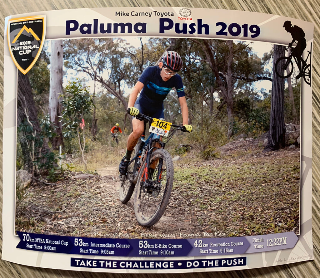 Alex Bogna : Paluma Push 2019
