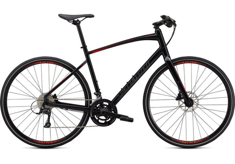 Sirrus 3.0 Blk/Rktred/Blk - Mackay Cycles - [product_SKU] - Specialized