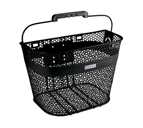 Basket Electra Linear QR Mesh Black - Mackay Cycles - [product_SKU] - Electra