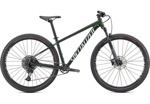 ROCKHOPPER EXPERT 29 GLOSS OAK GREEN METALLIC / METALLIC WHITE SILVER - Mackay Cycles - [product_SKU] - Specialized