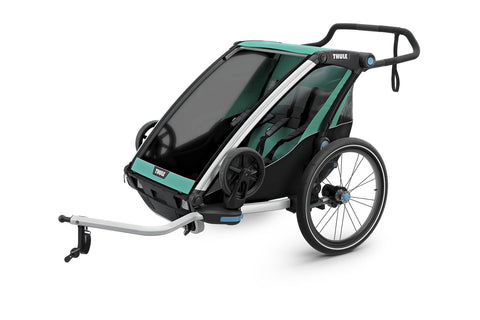 THULE CHARIOT LITE 2 BLUEGRASS - Mackay Cycles - [product_SKU] - Thule