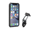 RIDECASE® WITH MOUNT IPHONE XR BLACK GREY