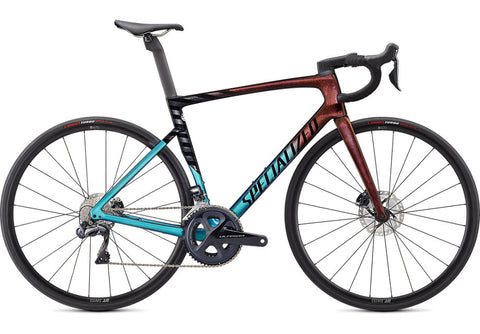 TARMAC SL7 EXPERT - Ultra Turquoise/Red Gold Pearl/Black