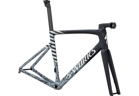 S-WORKS TARMAC SL7 FRAMESET - Black/Cool Grey/Dove Grey/Spectraflair