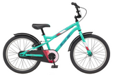 "GT Bicycles Siren 20"" Kids Single Speed Bike - Gloss Pitch Green"