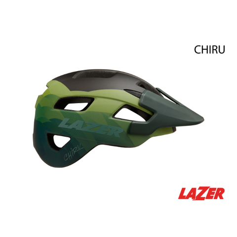 HELMET LAZER − CHIRU MATTE DARK GREEN - Mackay Cycles - [product_SKU] - LAZER