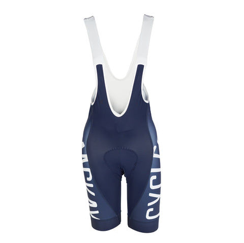 Navy Mackay Cycles Wmn Bib