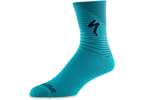 Soft Air Tall Sock Aqa/Cstblu Arrow