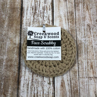 Cotton Face Scrubby