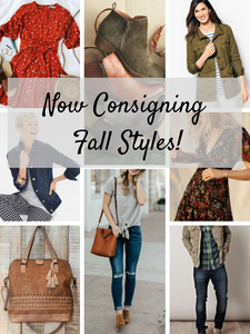 Now Consigning Fall