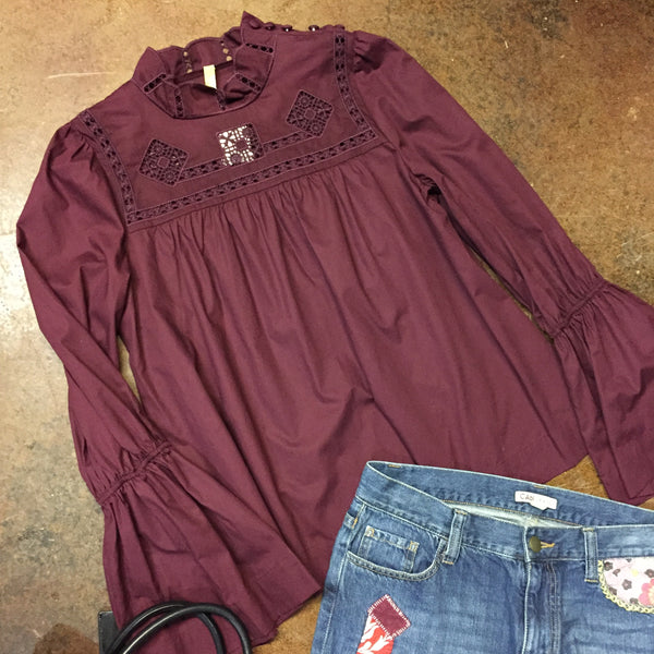 Free People Top, Size Large