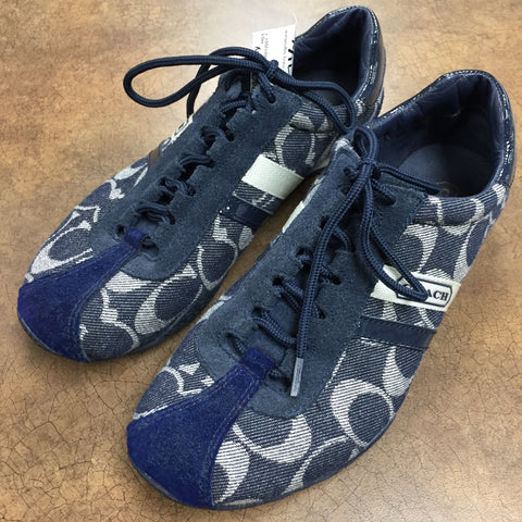 Coach Sneakers, Size 7.5