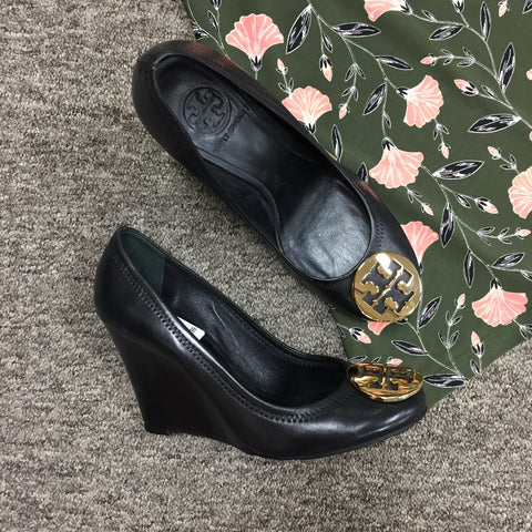 Tory Burch Wedges, Size 7.5