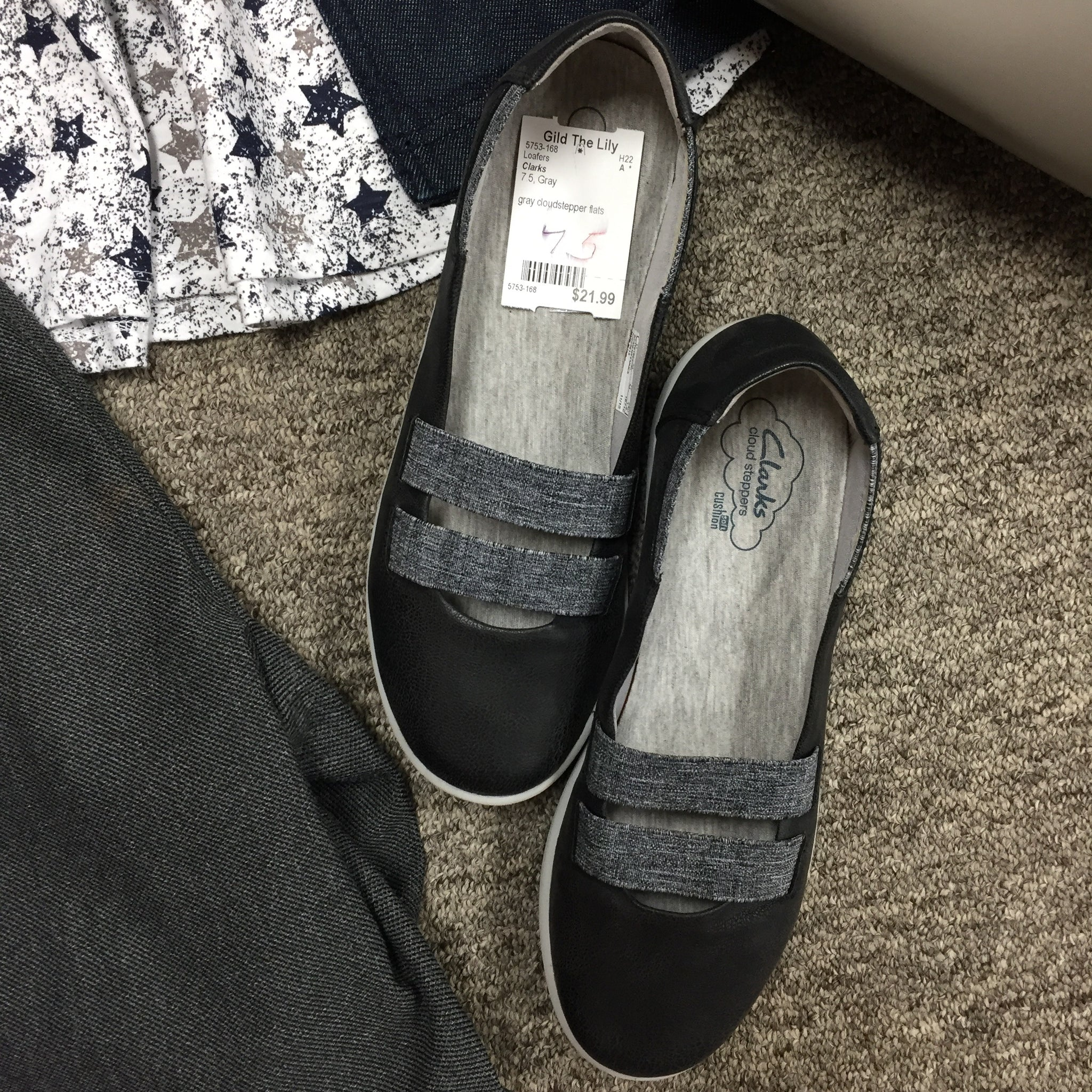 Clarks Loafers, Size 7.5