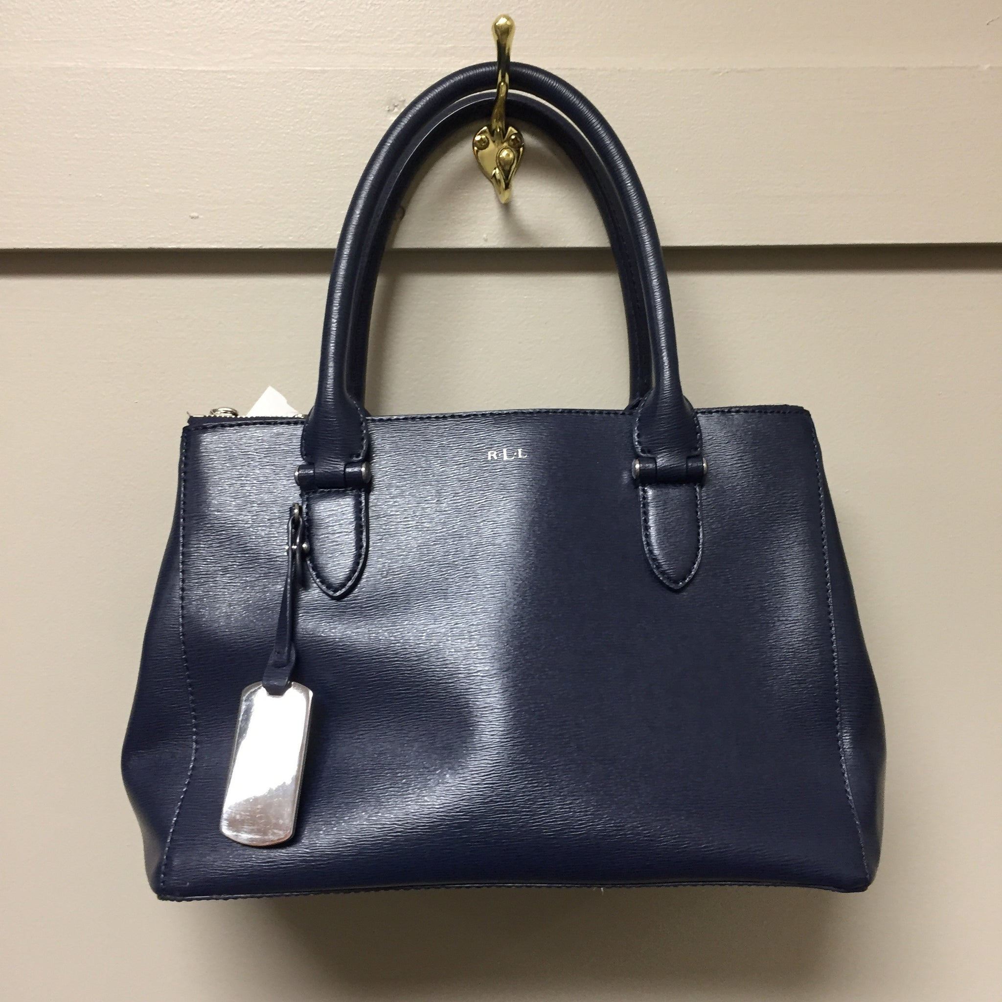 Ralph Lauren Navy Purse