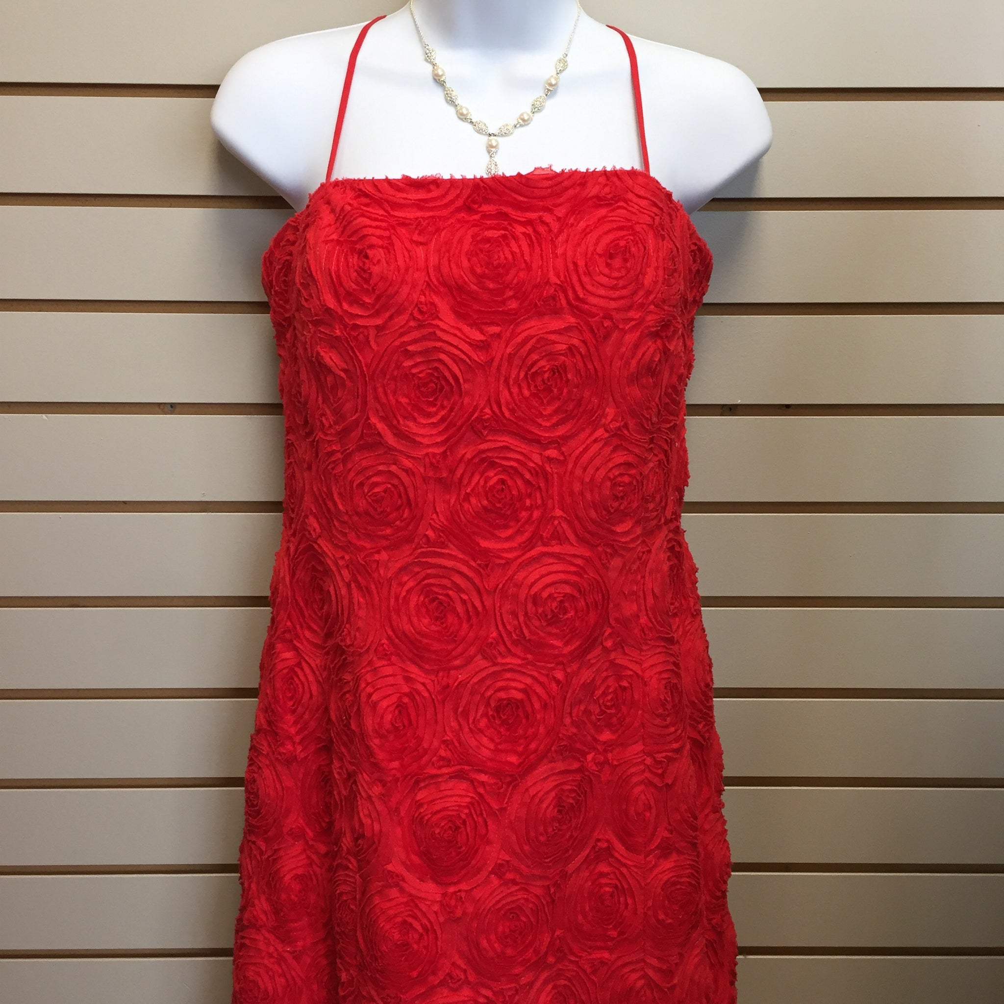 Calvin Klein Red Dress, Size 12