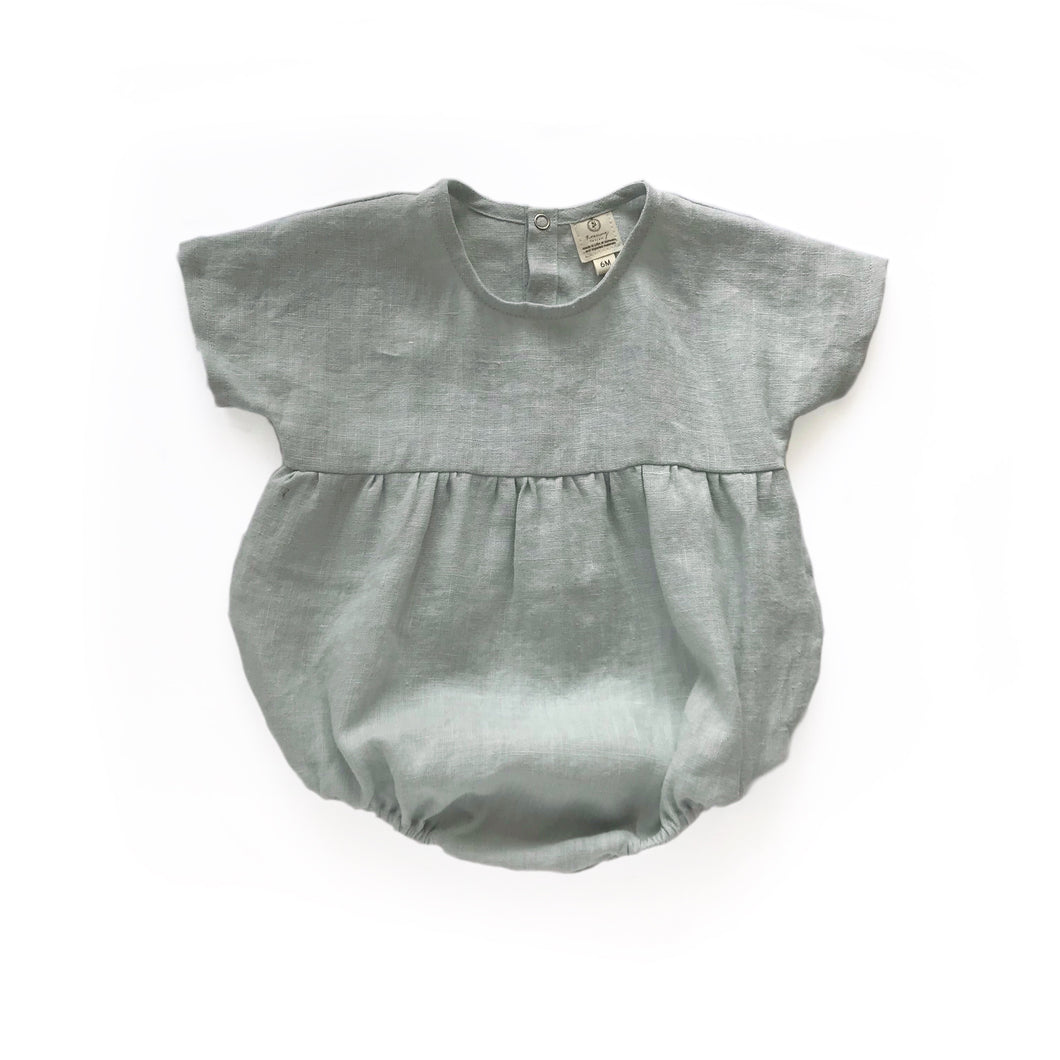 Ready to Ship Moonstone Romper Silver Blue (3M-2T)