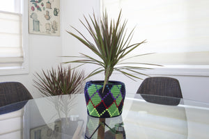 Moroccan Handwoven Storage Basket