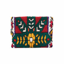 "Moroccan Berber ""Diya"" Up-Cycled Fold Over Clutch"