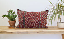 Moroccan Berber Kilim Throw Pillow