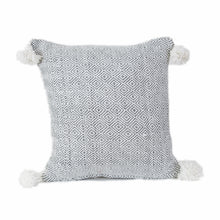 100% Cotton Moroccan Handwoven Pom Pom Pillow