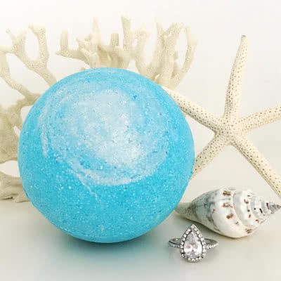 Sea Goddess Ring Bath Bomb