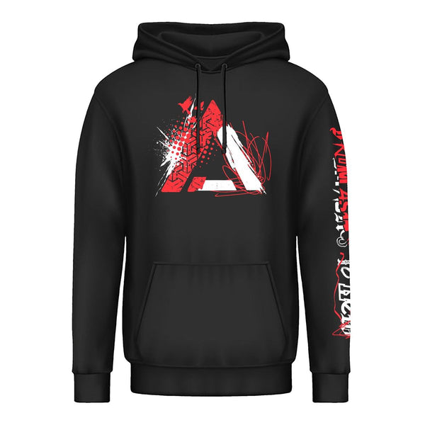 Chaos Collage Pullover Hoodie