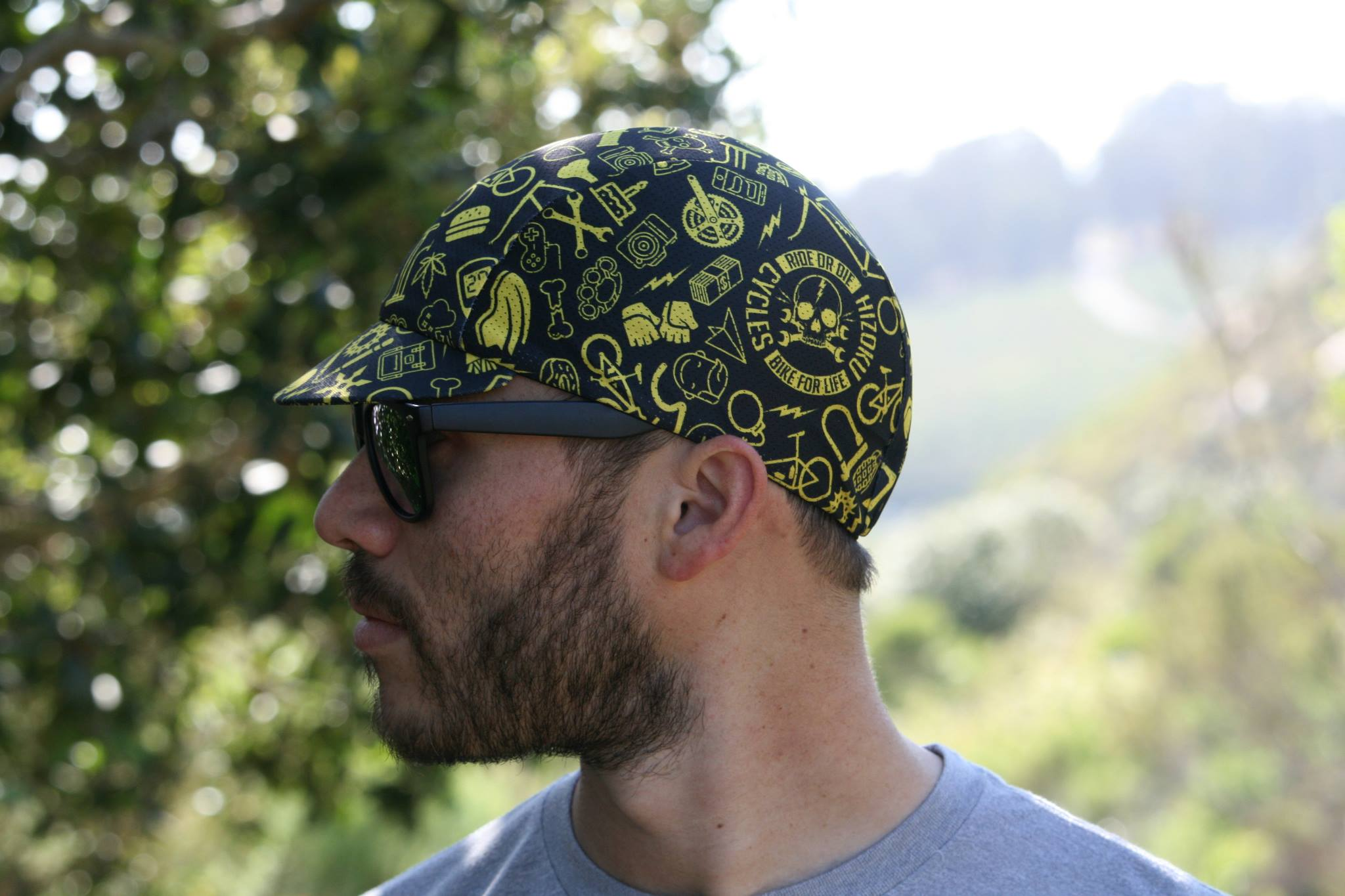 LAST BIKE LIFE CYCLING CAP