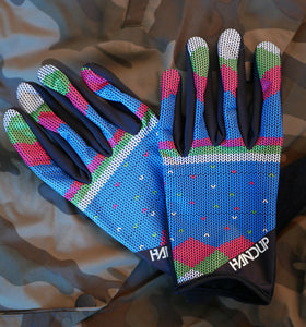 Cold Weather Neon Knitted Sweater Gloves by Handup Gloves