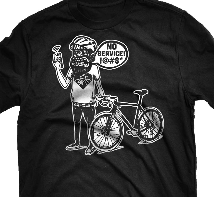 "Limited Edition ""No Service!"" T + Free Reflective Decal"