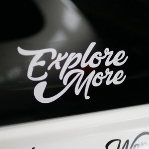 Explore More Bumpersticker