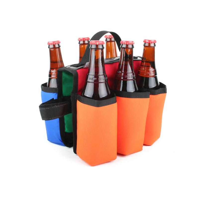 Sixer 6-Pack Insulated Top Tube Holder - Multi Color