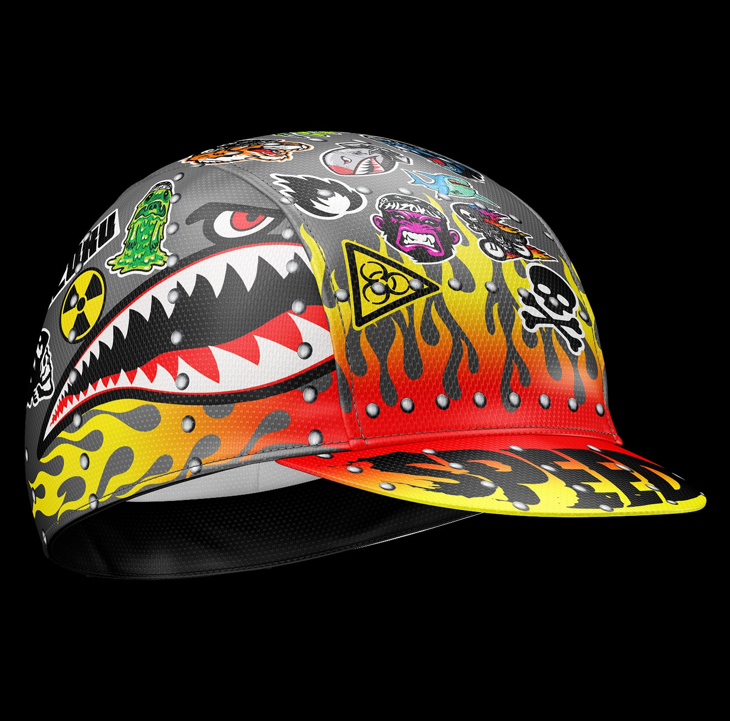 Pre-Order Hizoku Hot Rod Cycling Cap Ships out June 14th