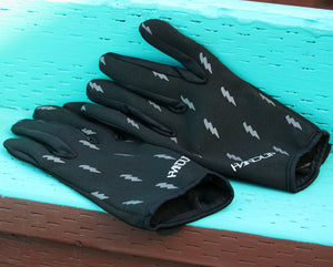 Send it - Blackout Bolts - Black/Reflective by Handup Gloves