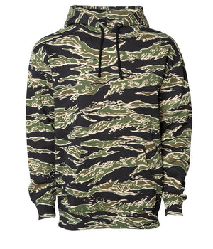 Tiger Camo Heavyweight Hooded Pullover