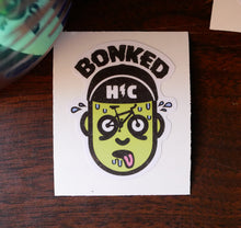 """Bonked"" Color Die Cut Vinyl Sticker"