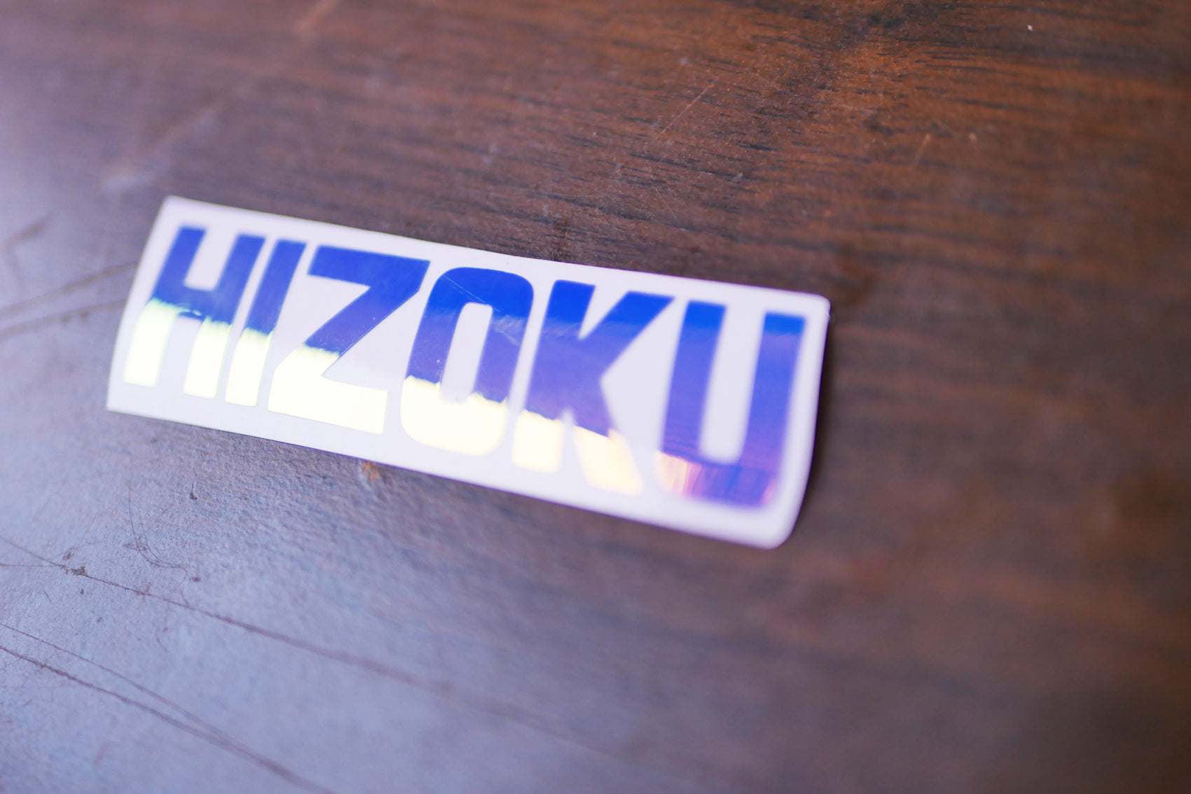 Hizoku Logo Decal Small